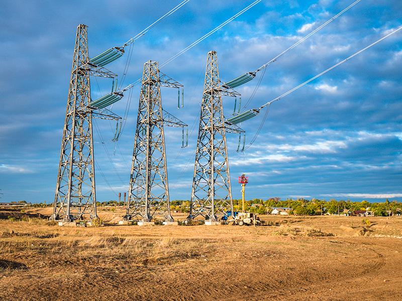 Повітряні лінії електропередач