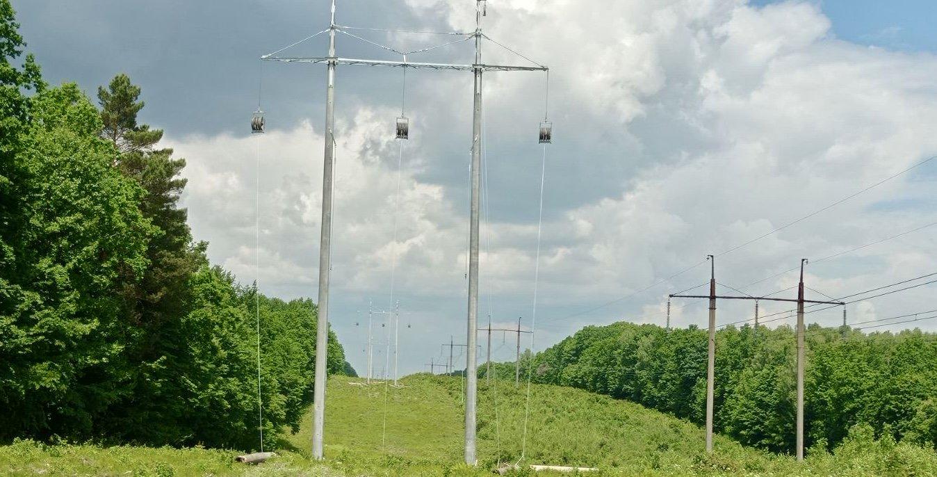 Работы по строительству ВЛ 330 кВ «Западноукраинская-Богородчаны» продолжаются!