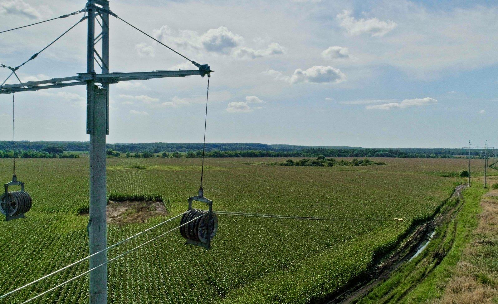 Компания Структум продолжает работы по строительству ВЛ 330 кВ «Западноукраинская — Богородчаны»!