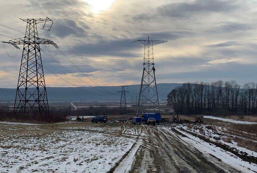 Триває будівництво ПЛ 330 кВ Західноукраїнська – Богородчани!